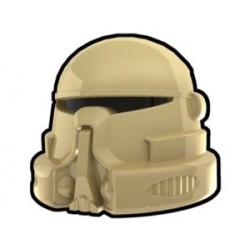 Lego Custom Arealight Tan Airborne Helmet (La Petite Brique)