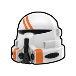 Lego Custom Arealight White Airborne Utapau Helmet (La Petite Brique)
