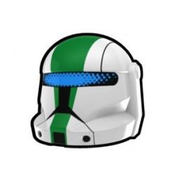 Lego Custom Arealight White Commando Fixer Helmet (La Petite Brique)