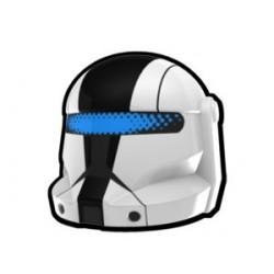 Lego Custom Arealight White Commando Skirata Helmet (La Petite Brique)