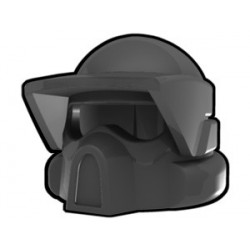 Lego Custom Arealight Dark Gray ARF Helmet (La Petite Brique)