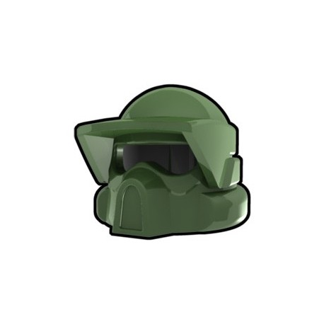 Lego Custom Arealight Sand Green ARF Helmet (La Petite Brique)