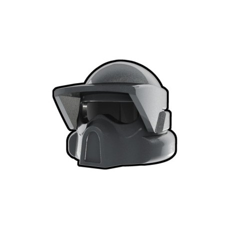 Lego Custom Arealight Silver ARF Helmet (La Petite Brique)