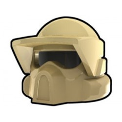 Lego Custom Arealight Tan ARF Helmet (La Petite Brique)