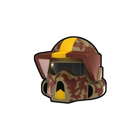 Lego Custom Arealight Tan ARF Waxer Helmet (La Petite Brique)