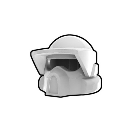 Lego Custom Arealight White ARF Helmet (La Petite Brique)