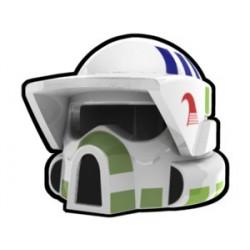 Lego Custom Arealight White ARF Razor Helmet (La Petite Brique)