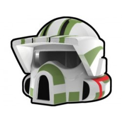 Lego Custom Arealight White ARF Trauma Helmet (La Petite Brique)