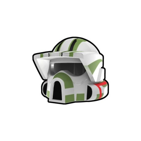 White ARF Trauma Helmet