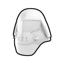 White Assault Helmet