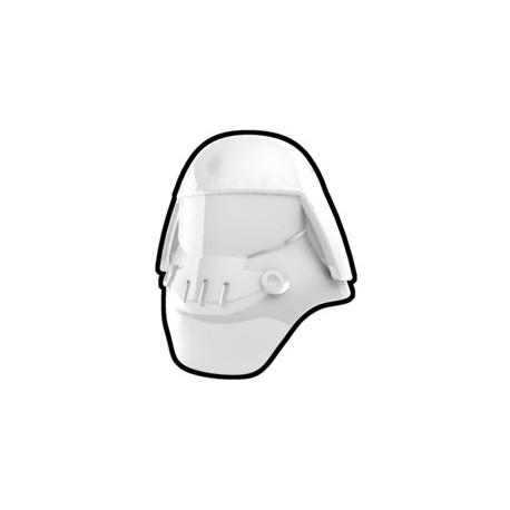 White Assault Helmet
