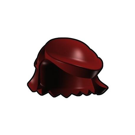 Lego Custom Arealight Dark Red Breezy Hair (La Petite Brique)