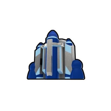 Lego Custom Arealight Silver Fett Jetpack (La Petite Brique)