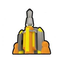 Lego Custom Silver Isabet Jetpack (La Petite Brique)