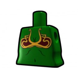 Lego Custom Arealight Torse féminin Vert avec maillot de bain (La Petite Brique)