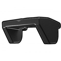 Black Phase I Sun Visor