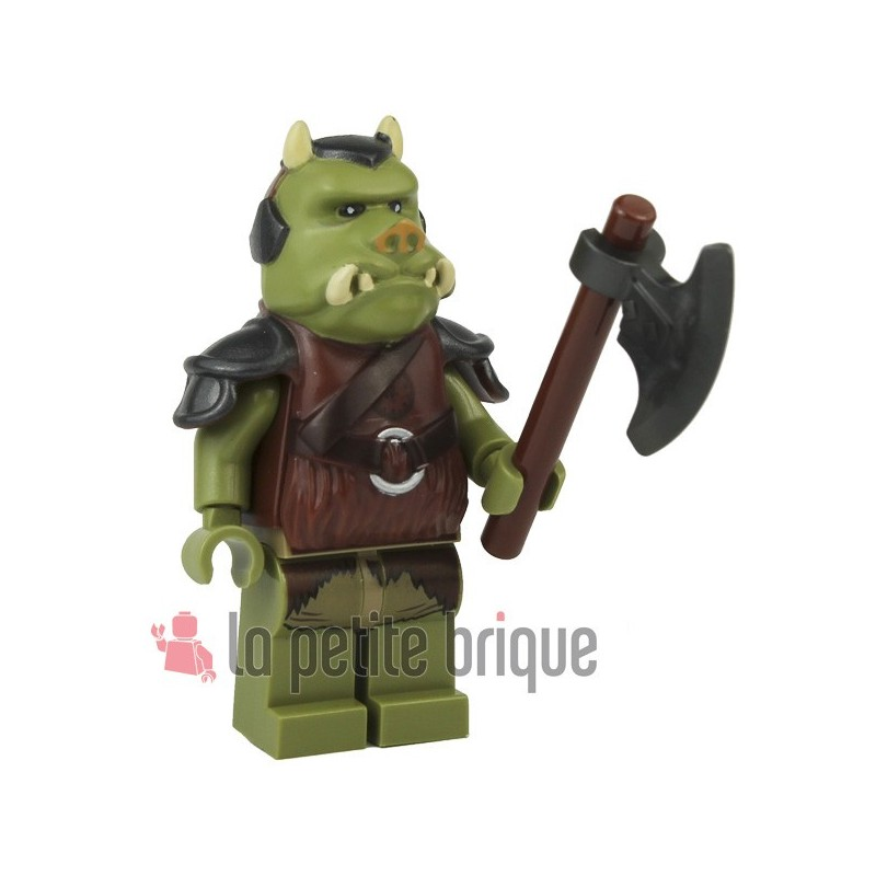 Lego minifig star wars gamorrean guard 9516 - Star wars gamorrean guard ...