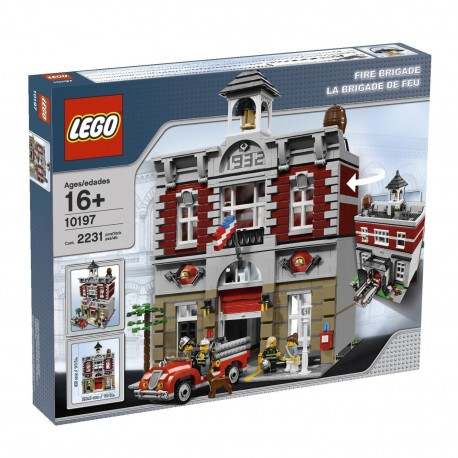 Lego 10197 - la brigade des pompiers (La Petite Brique)
