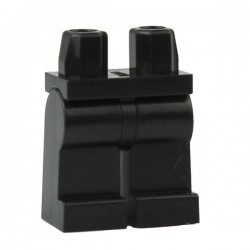 Lego Accessoires Minifig Jambes noires (La Petite Brique)