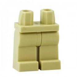 Lego Accessoires Minifig Jambes - beige (La Petite Brique)