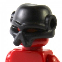 LEGO Brick Warriors Custom - Casque Envahisseur (noir) (La Petite Brique)