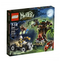 Lego MONSTER FIGHTERS 9463- Le Loup-Garou (La Petite Brique)
