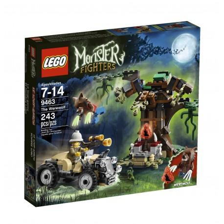 Lego MONSTER FIGHTERS 9463- Le Loup-Garou (La Petite Brique)