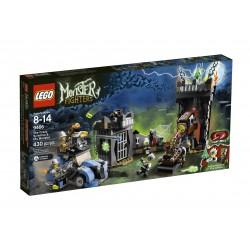 Lego MONSTER FIGHTERS 9466- Le professeur fou et sa créature monstrueuse (La Petite Brique)