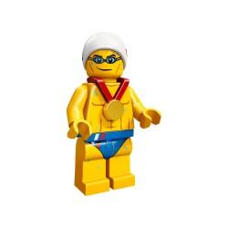 LEGO Minifig 8089 - le nageur J.O. Londres 2012 (La Petite Brique) Team GB Olympics