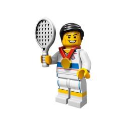 LEGO Minifig 8089 - le Tennisman J.O. Londres 2012 (La Petite Brique) Team GB Olympics