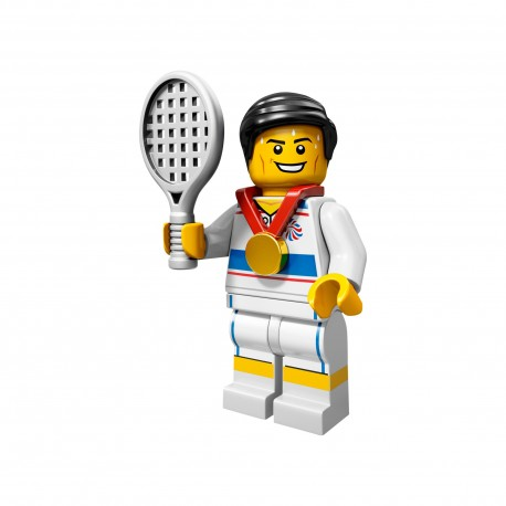 Lego Minifigure Tennis Player Series 7 Complete