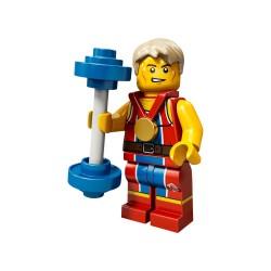 LEGO Minifig 8089 - l'haltérophile J.O. Londres 2012 (La Petite Brique) Team GB Olympics