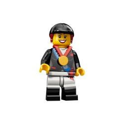 LEGO Minifig 8089 - la femme cavalier J.O. Londres 2012 (La Petite Brique) Team GB Olympics