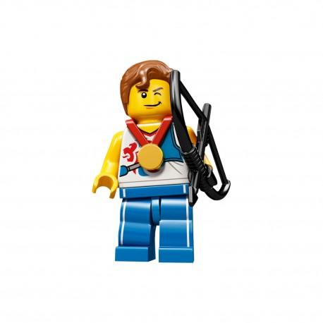 LEGO Minifig 8089 - l'archer J.O. Londres 2012 (La Petite Brique) Team GB Olympics