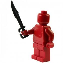 Lego Si-Dan Toys Spartan : épée noire (La Petite Brique)
