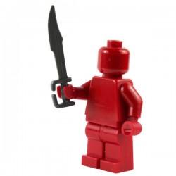 Lego Si-Dan Toys Spartiate : épée (iron black) (La Petite Brique)