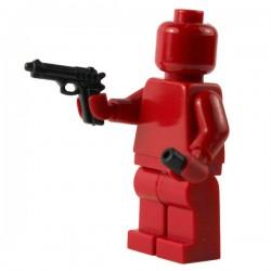 Lego Si-Dan Toys Beretta 92FS + Silencieux (pistolet semi-automatique) (La Petite Brique)