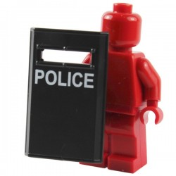 Black Bulletproof Shield N4 (POLICE)