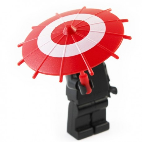 Japanese Umbrella -Black (Gold Circle)