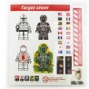Target Sheets Stickers