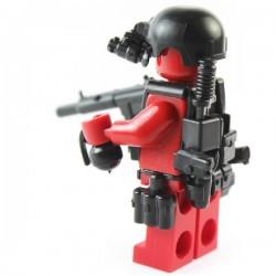 Lego Si-Dan Toys Navy Seals Pack (12 pièces) (noir) (La Petite Brique)