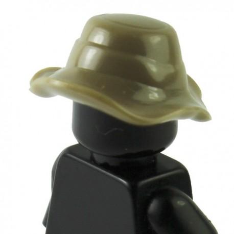 """Lego Si-Dan Toys Chapeau """"Boonie"""" (beige foncé) (La Petite Brique)"""