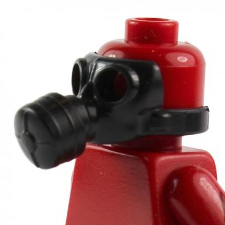 Lego Si-Dan Toys Masque à gaz v1 (noir) (La Petite Brique)