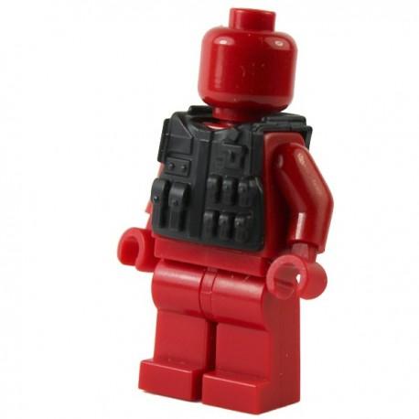 Lego Si-Dan Toys Tactical Vest M08 (noir) (La Petite Brique)