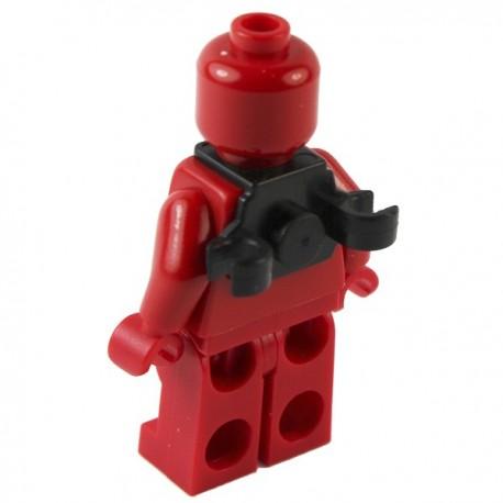 Lego Si-Dan Toys Special Backpack frame N2C (noir) (La Petite Brique)