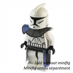 Lego Custom CAPEMADNESS Epaulette et Kama bleu minifig Star Wars (La Petite Brique)