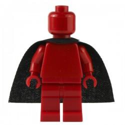 Lego Custom CAPEMADNESS Minifig Cape standard (noir)