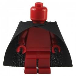 Lego Custom CAPEMADNESS Minifig Cape pardessus (noir)