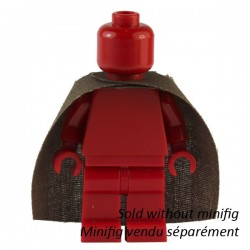 Lego Custom CAPEMADNESS Minifig Brown Mid-Cape (La Petite Brique)