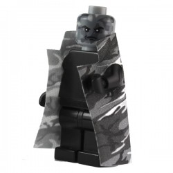 Lego Custom CAPEMADNESS Trench Coat Camouflage Urbain gris